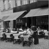 Brasserie van Loock terras