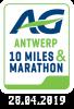 Antwerp 10 Miles & Marathon 2019 op zondag 28 april