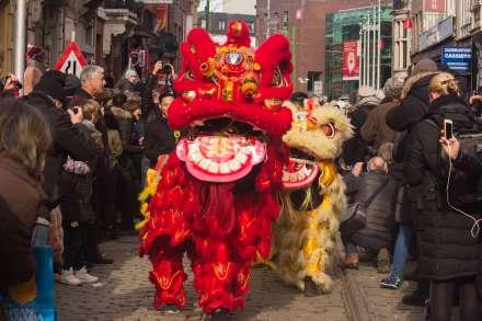 Antwerpen viert Chinees Nieuwjaar