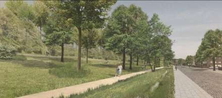 Masterplan Park Brailmont - Project Walpark Polygoonstraat