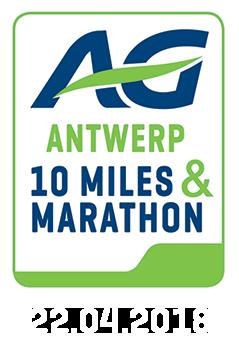 Antwerp 10 Miles 2018 op zondag 22 april