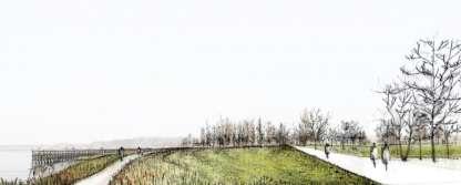 Droogdokkenpark getijdenoever
