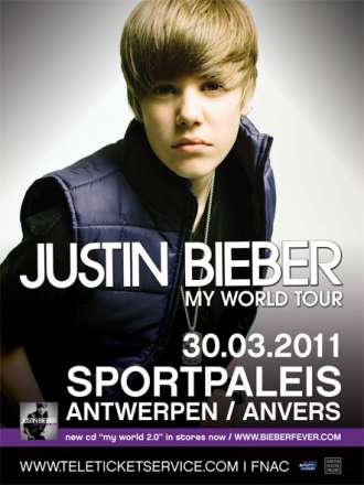 Justin Bieber Concert Tickets California on Justin Bieber In Sportpaleis   Tickets   Antwerpen