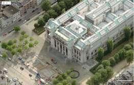 Museum vanuit de lucht