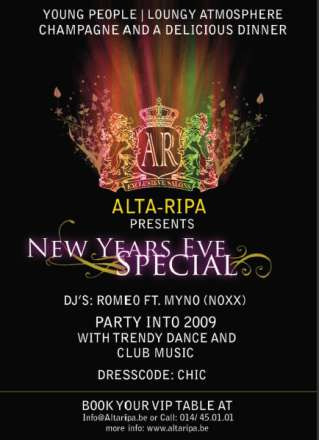 New Years Eve - Alta Ripa