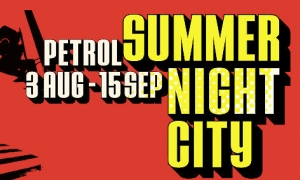 Summernight City in Petrol