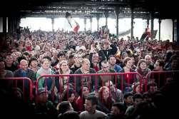De Rode Duivels tegen Bosnië in de Cargo Zomerbar