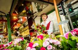 Bloemen op de Rubensmarkt