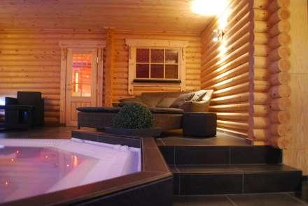 Prive sauna zwembad met overnachting