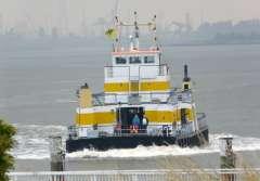 Veerboot tussen Linker en Rechteroever Antwerpen