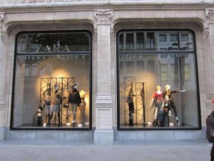 Zara antwerpen antwerpen for Interieur winkel antwerpen
