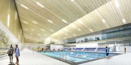 Zwemcentrum Deurne binnenzicht